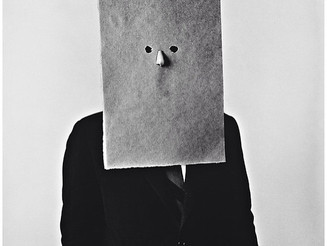 #IrvingPenn - #SaulSteinberg in #Nose #Mask, #NewYork, #1966 #BlackandWhite #quirky #INSPIRATION