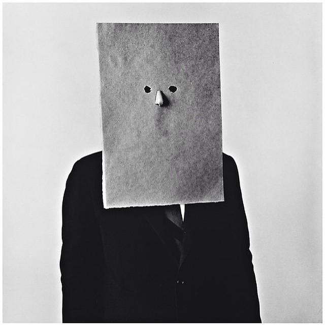 Instagram - #IrvingPenn - #SaulSteinberg in #Nose #Mask, #NewYork, #1966 #Blacka