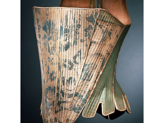#Corset #Europe, c. #1765 #HelenLarson #Historic #FashionCollection Proposed #FIDM #Museum #Acquisit