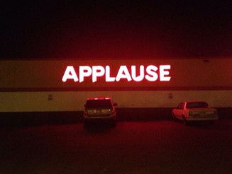 #seenSaidHeard #Vote #applause #neonlight #red #ontheroad #stopoff #done. #vintageCars