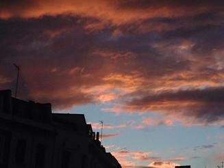 #Dali #sky #sunset over #Pimlico