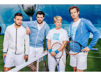 To coincide with the start of #Wimbledon2015, here is a very recent #UNICEF #Tennis project I worked