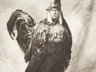 #HAPPYEASTER #greekeaster #man in a #vintage #chickencostume #chicken