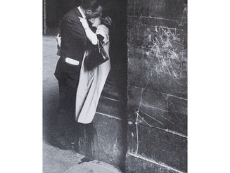 A #GoodNight #kiss. #ÉdouardBoubat- #Couple #Kissing au #Louvre, #Paris, #1960.  #CaughtonCamera #Is