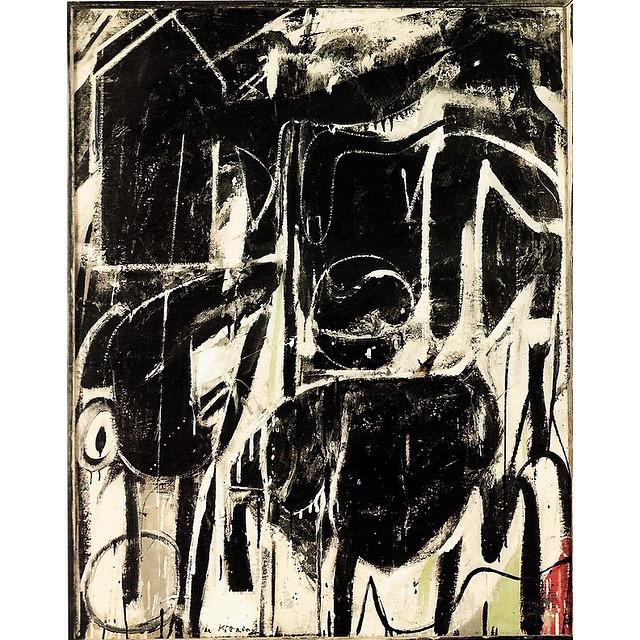 Instagram - 'Black Friday' (#1948) by Willem de Kooning  #BlackFriday #Friday  #
