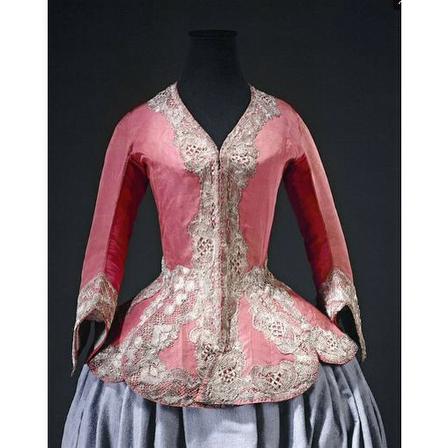 "Instagram - #France, #Bodice ""à basques"" (#casaquin), worn after #hunting, gros"