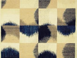 #Inspiration | #EthelStein #5 | #damask #woven #silk #ikat | Croton-on-Hudson, #NewYork, U.S.A. | c.