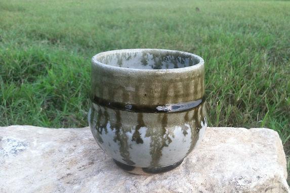 Ash Glaze Yunomi Cup