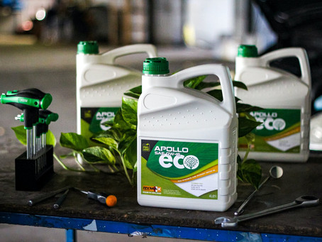 RYMAX LUBRICANTS INTRODUCES THE APOLLO ECO LINE: MORE THAN JUST FUEL SAVING