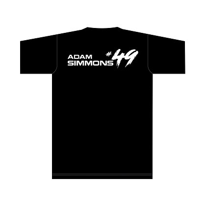 ADAM SIMMONS #49 TEE