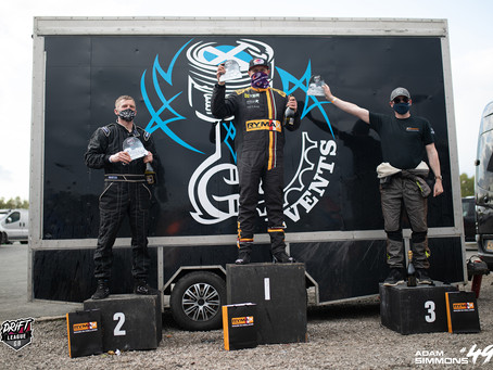 FIRST PLACE AT DRIFT LEAGUE GB - ROUND 1
