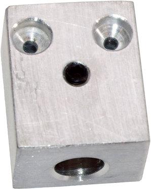 Aluminium Accelerator Twin Cable Block