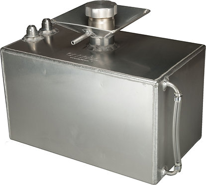 Alloy Baffled Fuel Tank with 50mm Splash Bowl and JIC Fittings