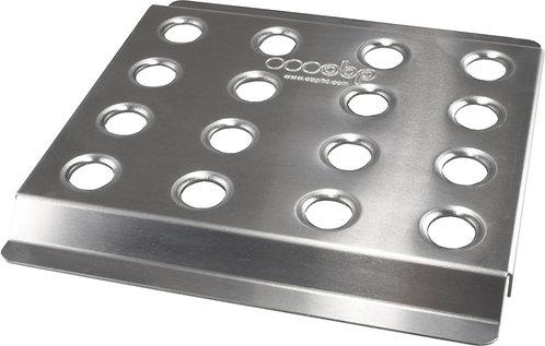 Aluminium Drivers Flat Footrest