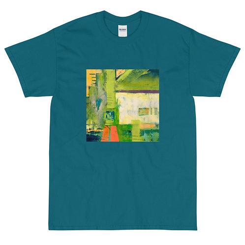 Men's Short Sleeve T-Shirt, Abstract 2, by Jen Prill