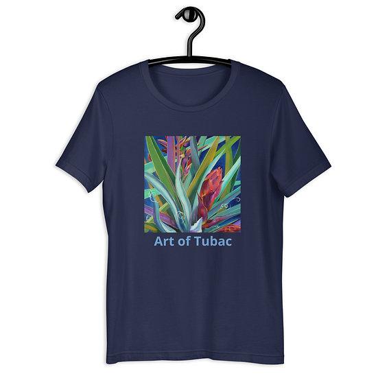 Short-Sleeve Unisex T-Shirt, Banana Yucca, by Jacci Weller