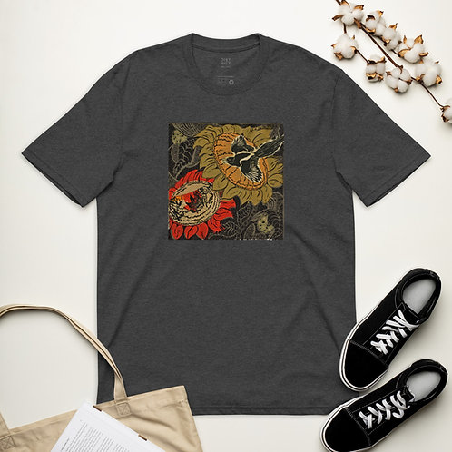 Unisex recycled t-shirt by Ouida Touchon