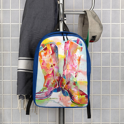 Cowboy Boot  Backpack designed by Roberta Rogers