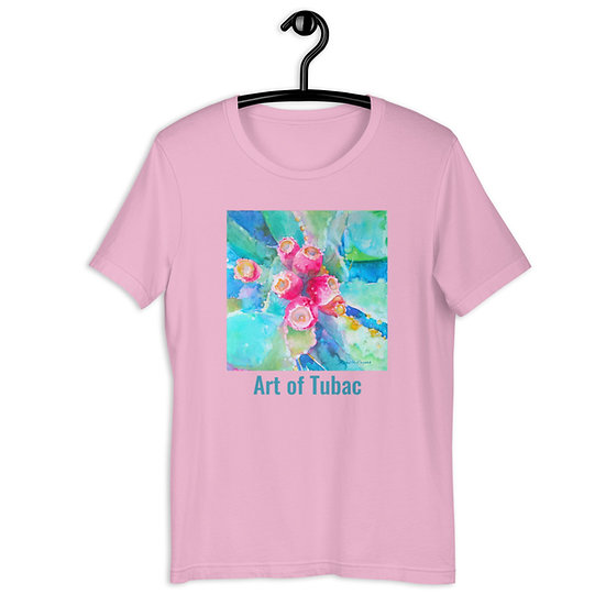 Short-Sleeve Unisex T-Shirt, Nopalitos, by Roberta Rogers