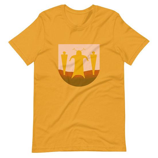 Short-Sleeve Unisex T-Shirt designed by Tubac Artist