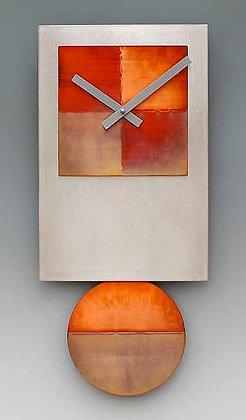 Steel Tie Pendulum Clock with Copper