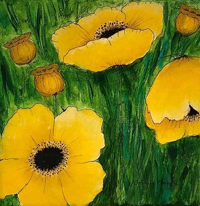 Yellow Poppies #1