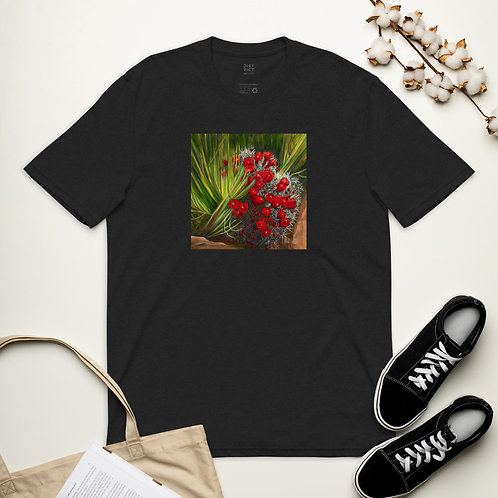 Unisex recycled t-shirt prickly pear cactus