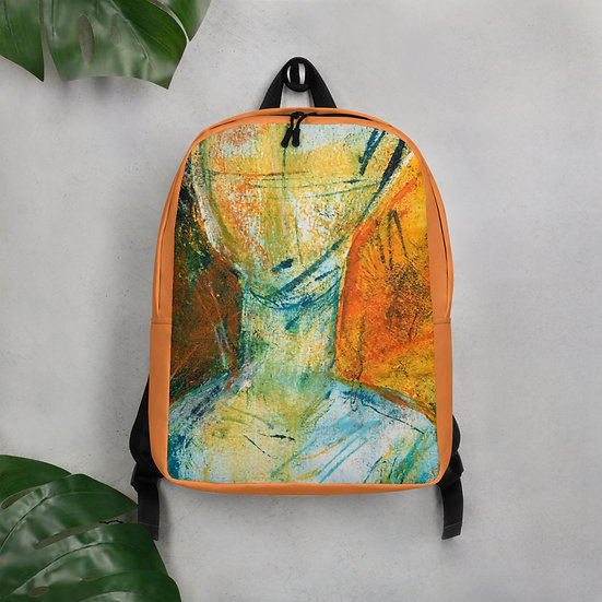 Minimalist Backpack by Tubac artist