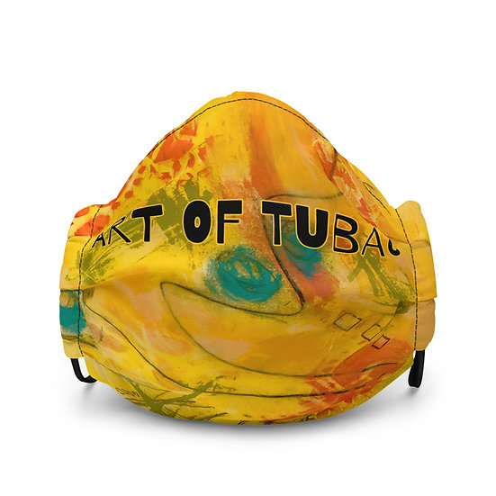 Premium face mask designed by Tubac Artist