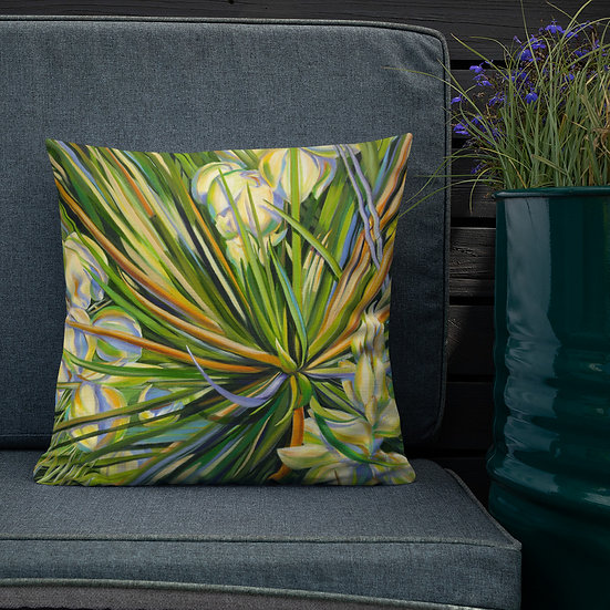 Premium Pillow, Yucca, by Jacci Weller