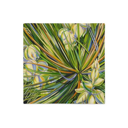 Premium Pillow Case, Yucca, by Jacci Weller