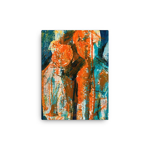 Canvas print of painting by Tubac Artist, Jen Prill