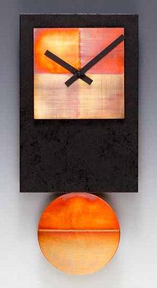 Black Tie Pendulum Clock with Copper
