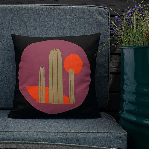 Premium Pillow, Tubac Sun by Jen Prill