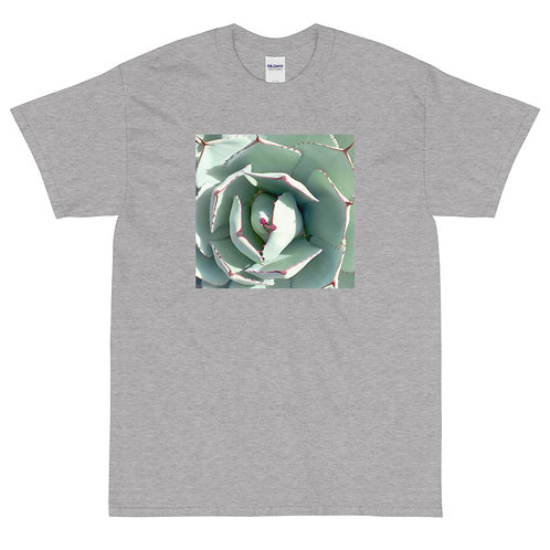 Men's Short Sleeve T-Shirt, Face of Agave, by Jen Prill