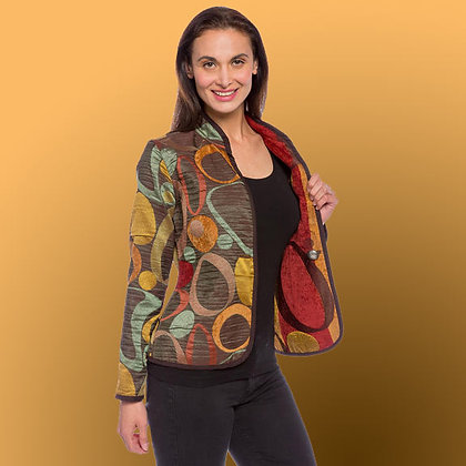 Classic Milano Autumn Reversible Jacket