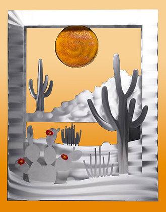 Desert Wall Sculpture