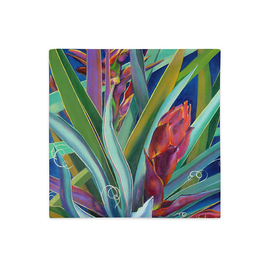 Premium Pillow Case, Banana Yucca, by Jacci Weller