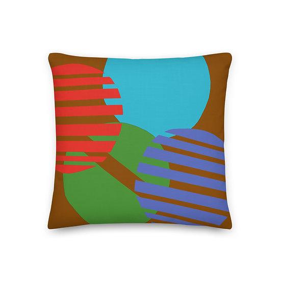Premium Pillow with desert colors