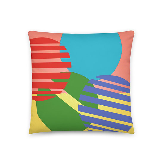 Throw Pillow designed by Tubac artist