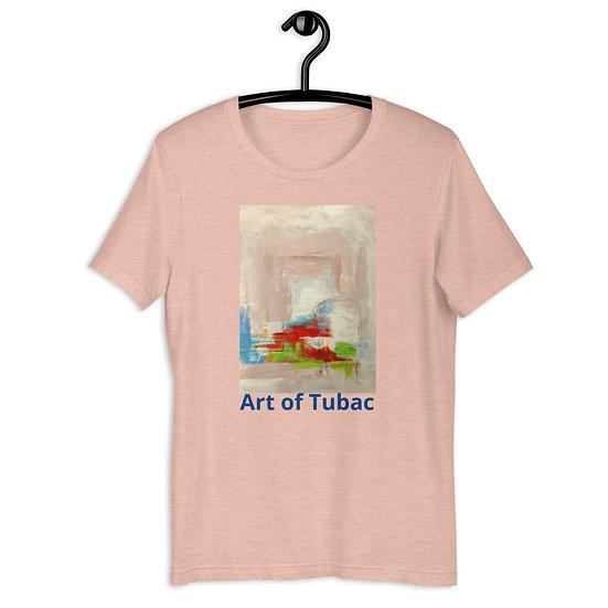 Short-Sleeve Unisex T-Shirt, Tunnel Light, by Jen Prill