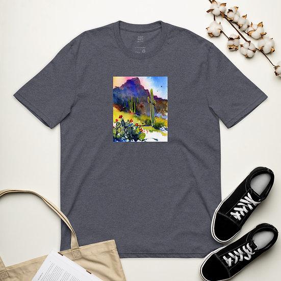 Unisex recycled t-shirt desert hills
