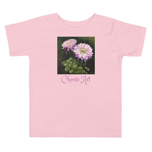 Toddler Short Sleeve Tee Designed by Tubac Artist