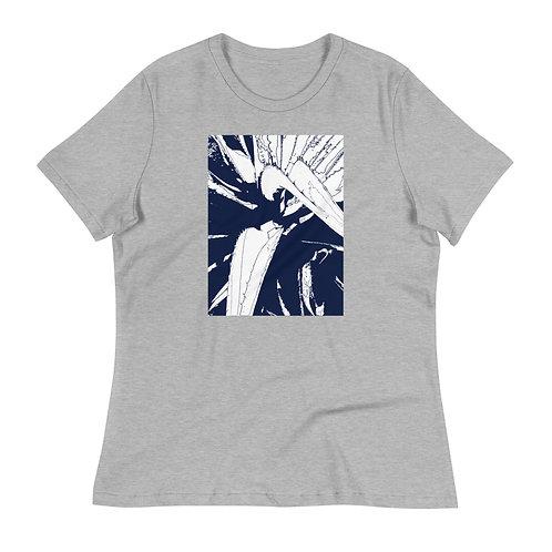 Women's Relaxed T-Shirt, Inside an Agave, by Jen Prill