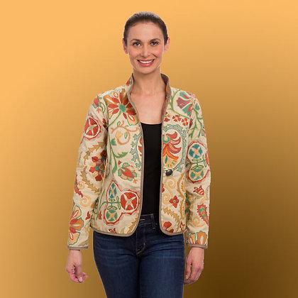 Classic Provence Cream Reversible Jacket
