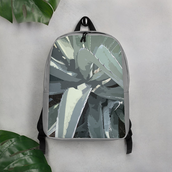 Minimalist Backpack with photo from Tubac artist