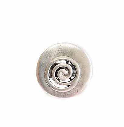 Pewter Spiral Ring