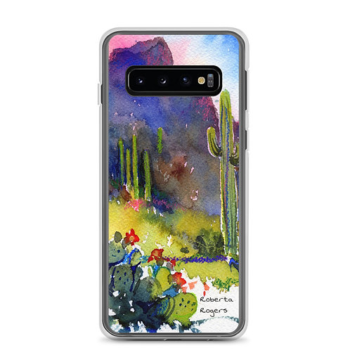 Samsung Case Tubac Hills by Roberta Rogers