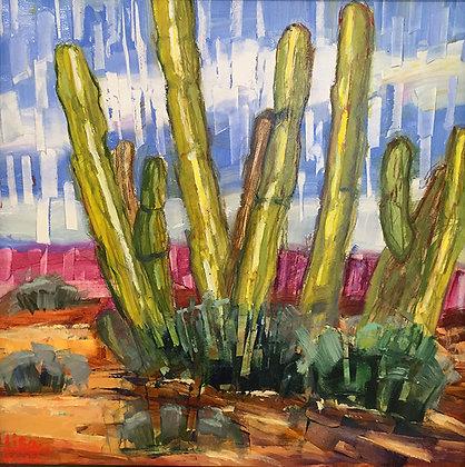 Lisa Matta's painting at Tubac Art and Gifts