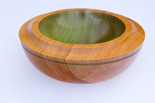 Alligator Juniper Green Bowl Small